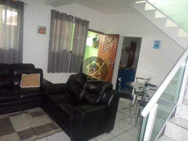Casa com 2 dormitórios à venda, 70 m² por R$ 195.000 - Parque Continental - São Vicente/SP
