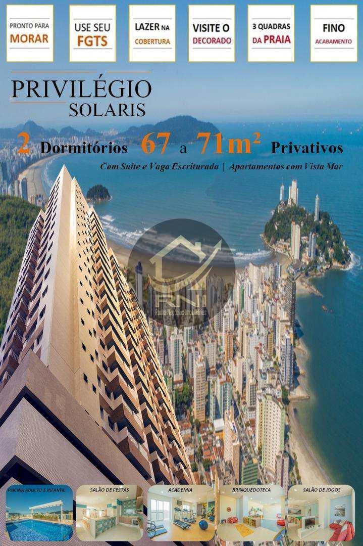 Apartamento com 2 dormitórios à venda, 66 m² por R$ 349.024,77 - Vila Valença - São Vicente/SP