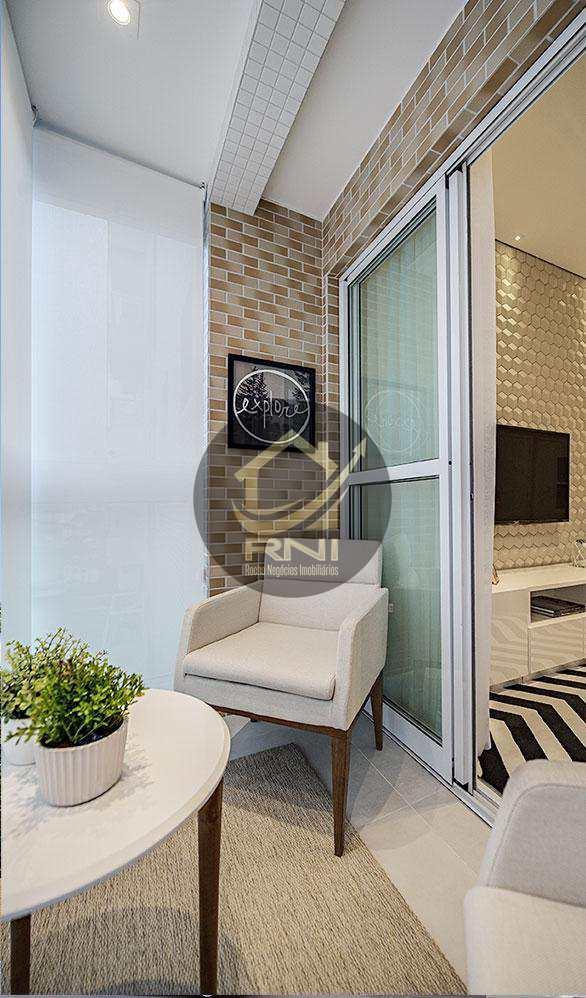 Apartamento com 2 dormitórios à venda, 67 m² por R$ 486.720,00 - Macuco - Santos/SP
