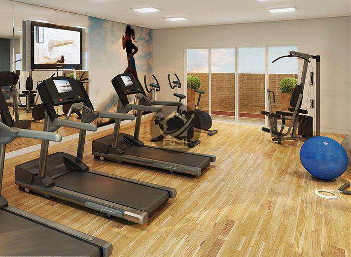 Apartamento com 2 dormitórios à venda, 60 m² por R$ 481.508,00 - Macuco - Santos/SP