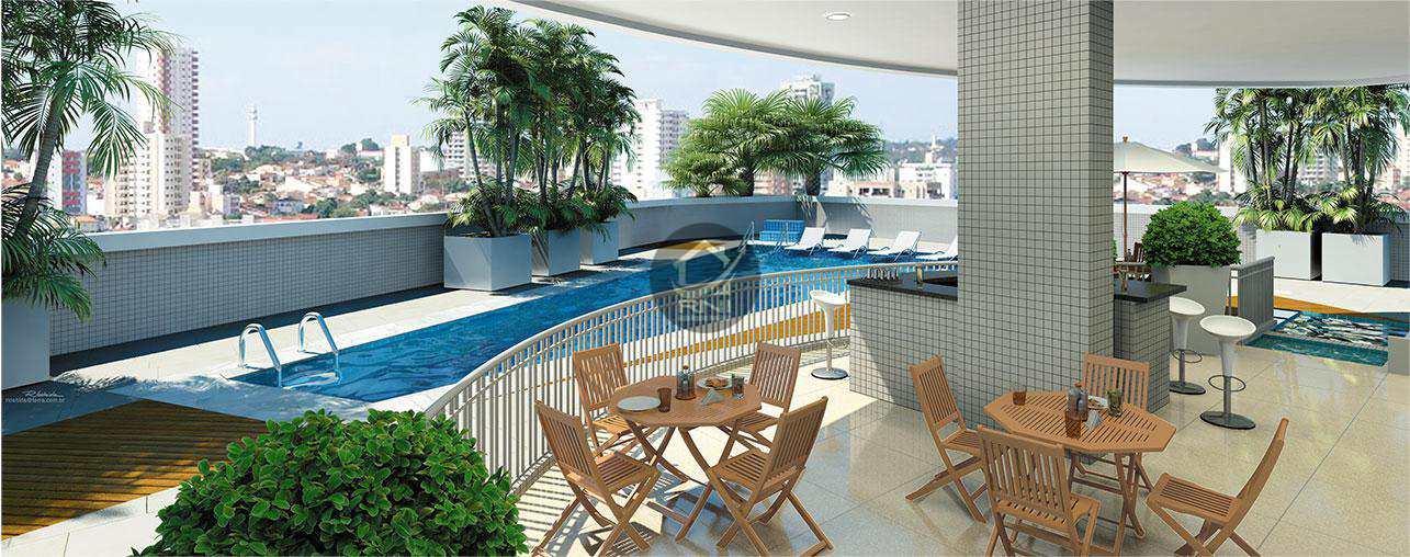 Cobertura com 3 dormitórios à venda, 273 m² por R$ 2.736.863,00 - Boqueirão - Santos/SP
