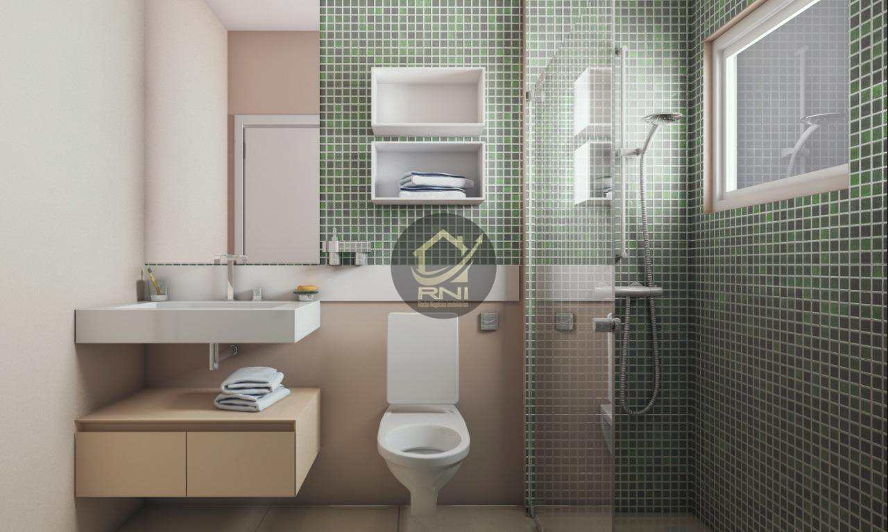Apartamento com 2 dormitórios à venda, 67 m² por R$ 324.534,98 - Vila Guilhermina - Praia Grande/SP
