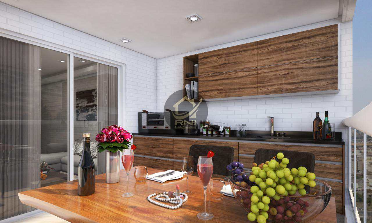Apartamento Garden com 1 dormitório à venda, 49 m² por R$ 241.880,00 - Vila Guilhermina - Praia Grande/SP