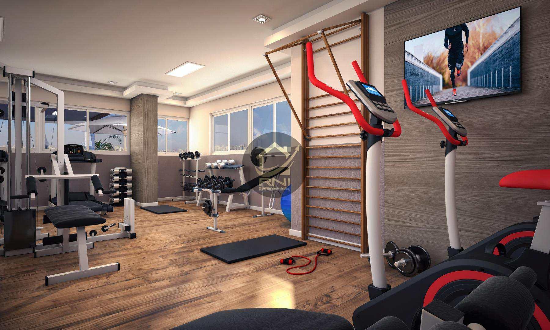 Apartamento com 2 dormitórios à venda, 71 m² por R$ 341.000 - Vila Guilhermina - Praia Grande/SP