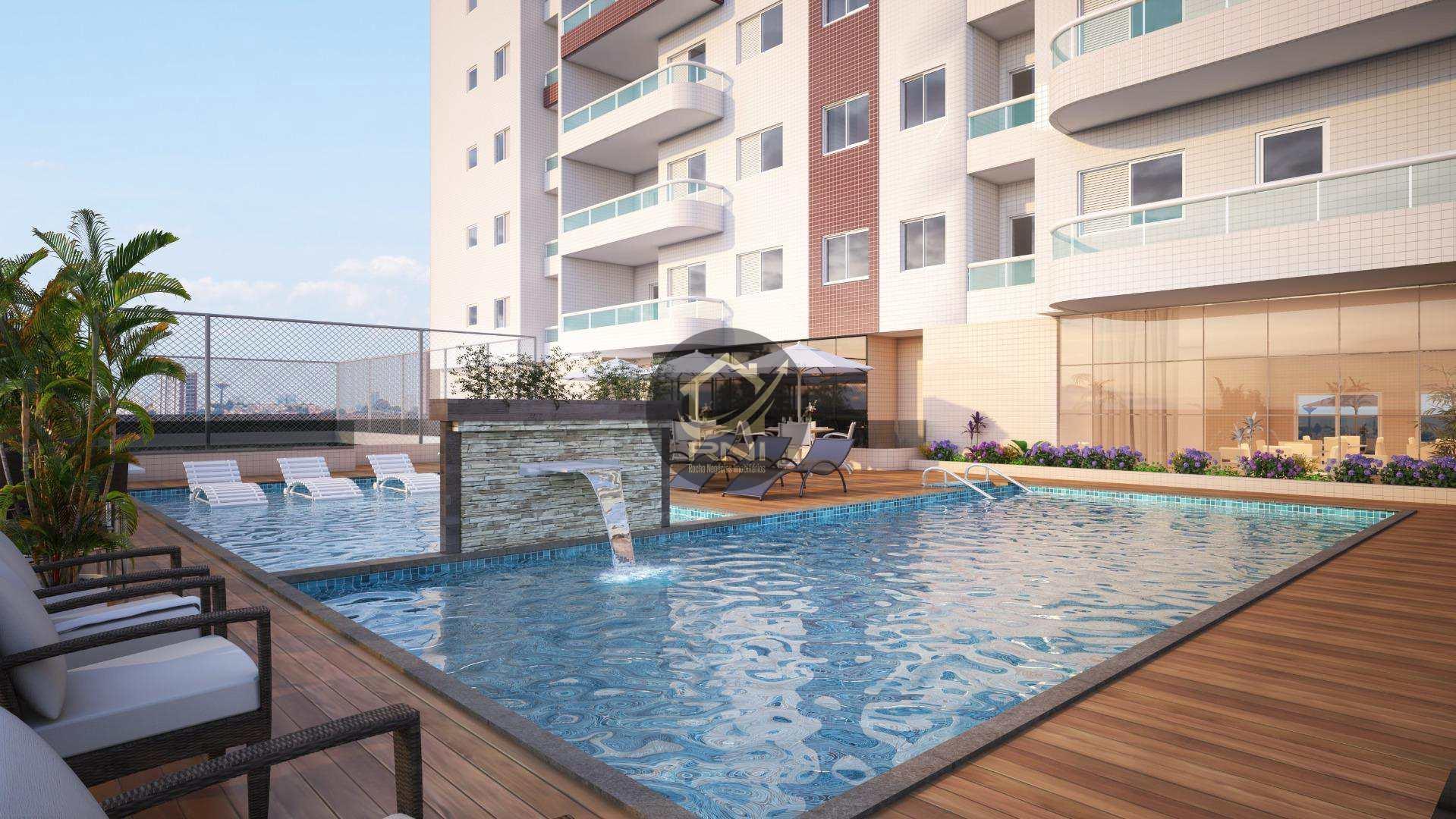 Apartamento com 2 dormitórios à venda, 74 m² por R$ 351.633,84 - Vila Guilhermina - Praia Grande/SP