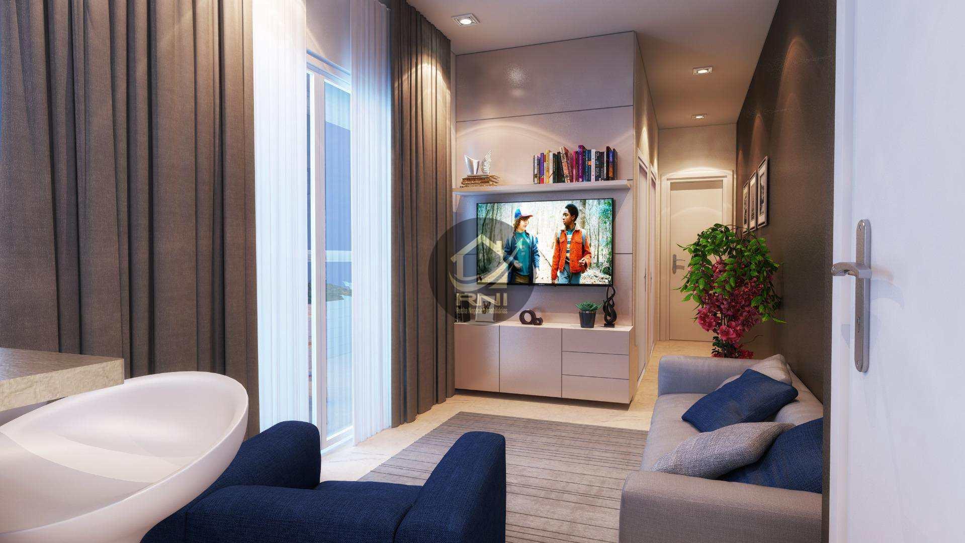 Apartamento com 2 dormitórios à venda, 71 m² por R$ 339.778,89 - Vila Guilhermina - Praia Grande/SP