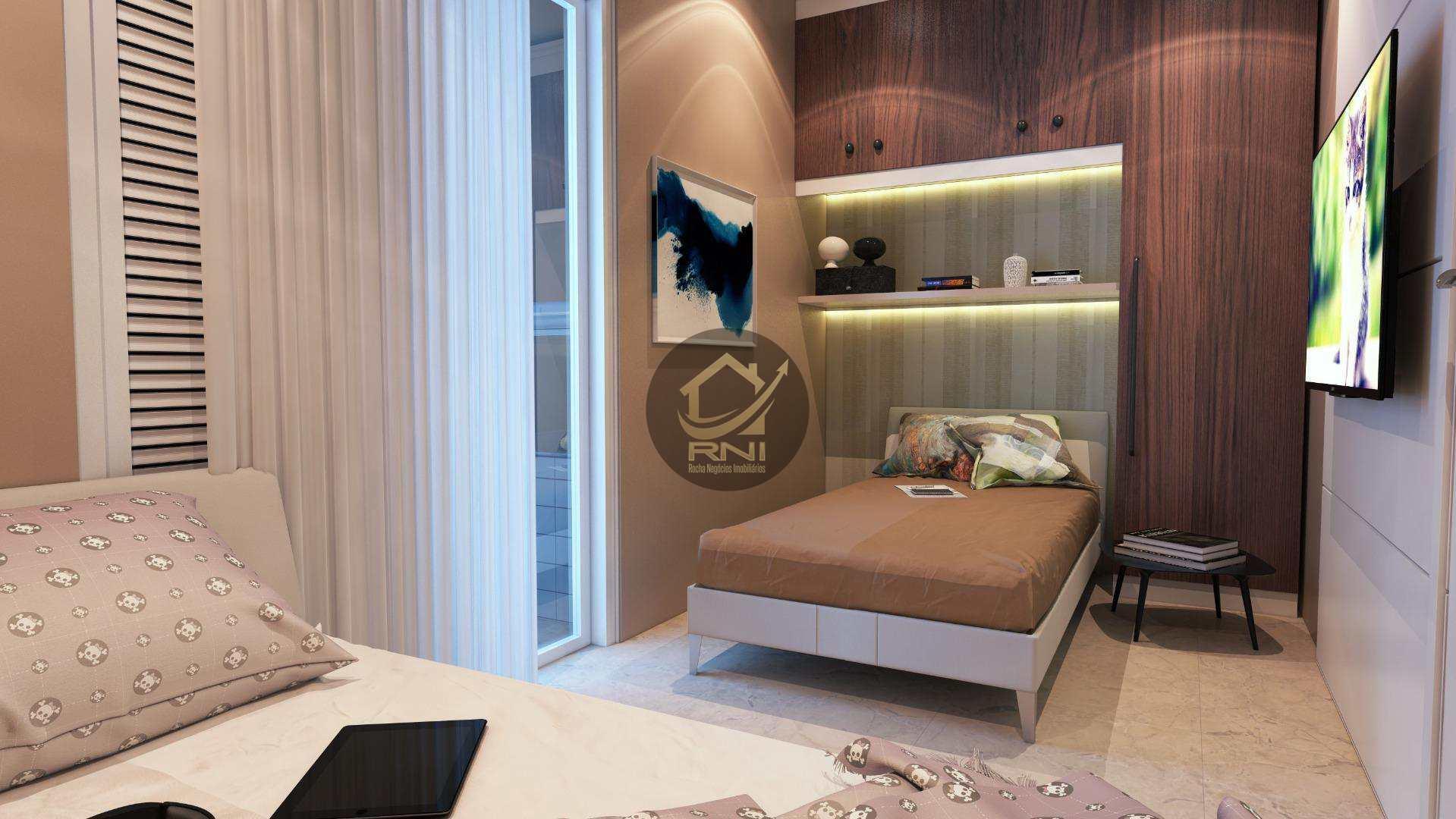 Apartamento com 2 dormitórios à venda, 71 m² por R$ 338.220,27 - Vila Guilhermina - Praia Grande/SP