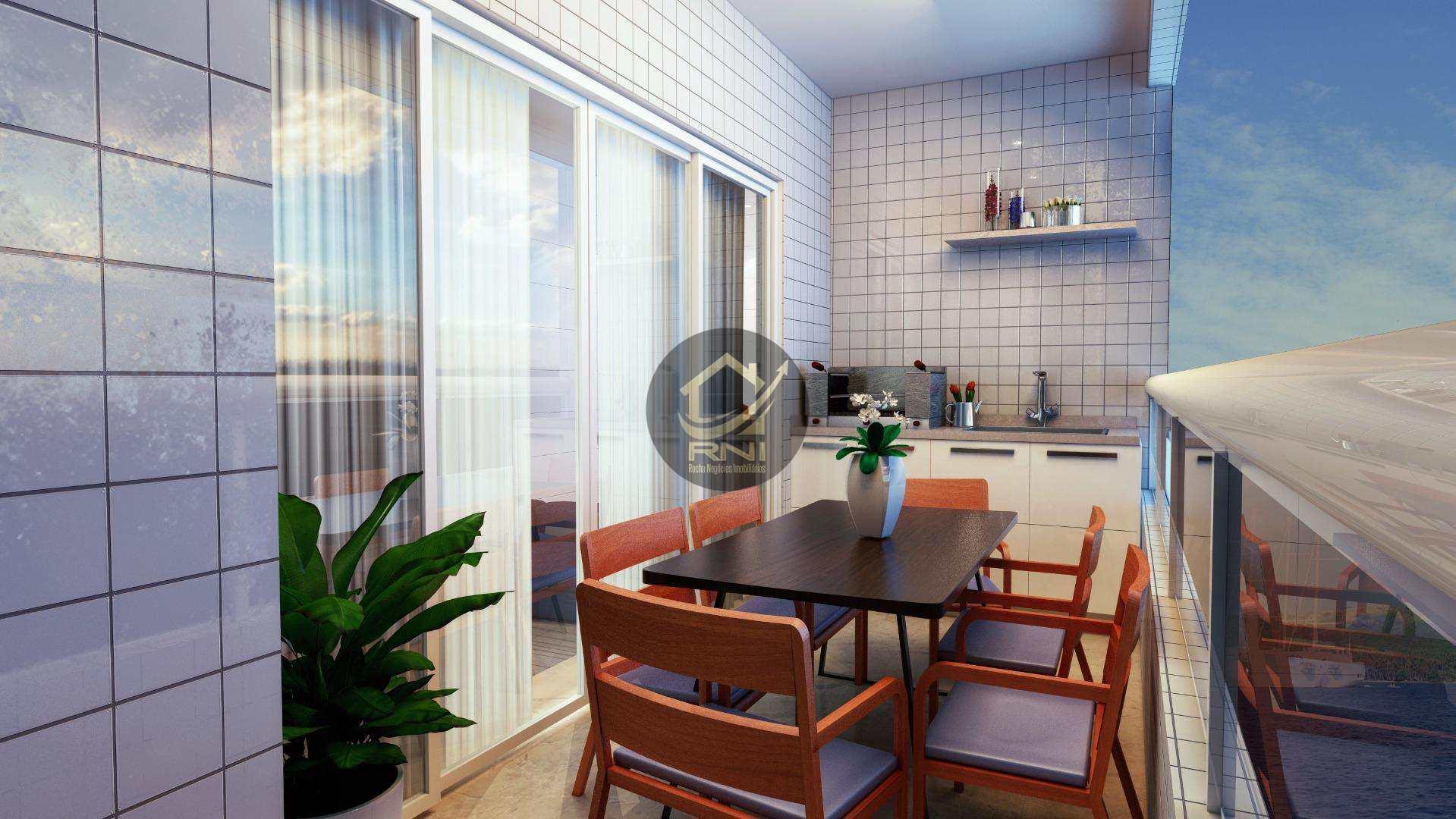 Apartamento com 2 dormitórios à venda, 79 m² por R$ 358.564,72 - Vila Guilhermina - Praia Grande/SP