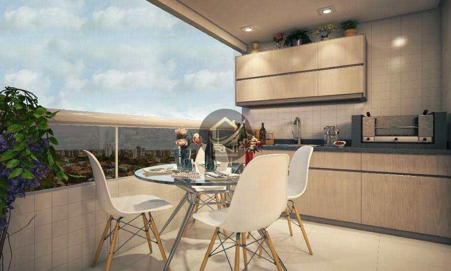Apartamento com 2 dormitórios à venda, 63 m² por R$ 315.000,00 - Canto do Forte - Praia Grande/SP
