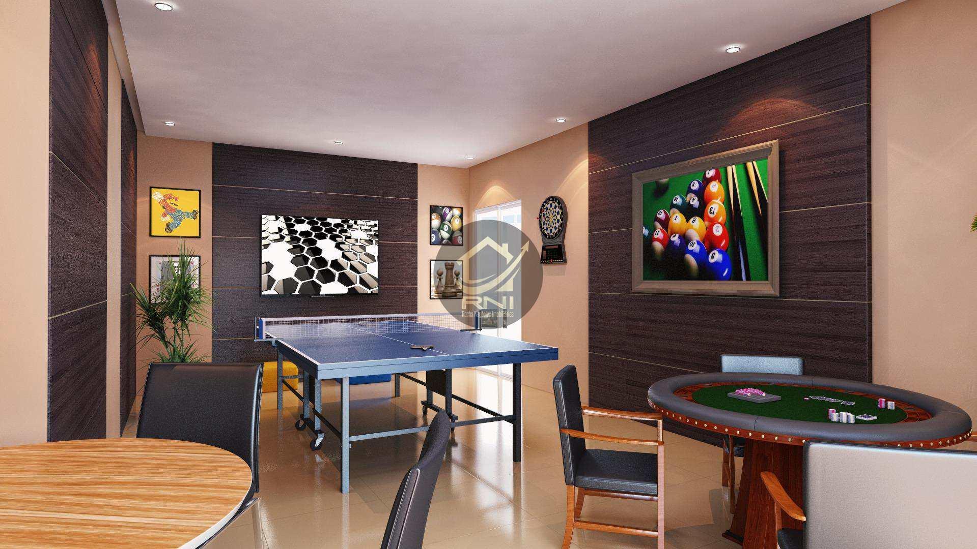Apartamento com 2 dormitórios à venda, 64 m² por R$ 320.000,00 - Canto do Forte - Praia Grande/SP