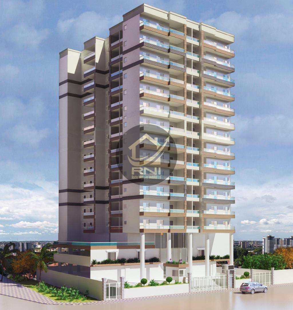Apartamento Garden com 2 dormitórios à venda, 106 m² por R$ 480.000,00 - Canto do Forte - Praia Grande/SP