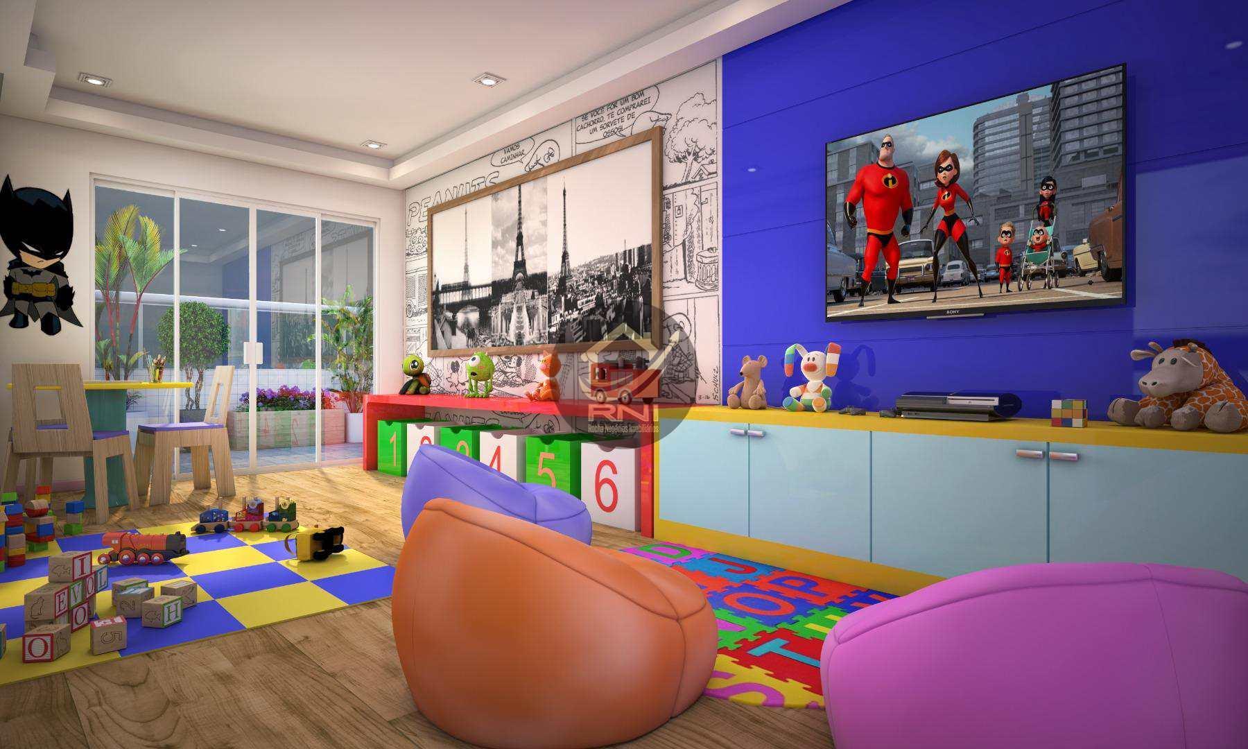 Apartamento com 2 dormitórios à venda, 77 m² por R$ 380.000,00 - Vila Guilhermina - Praia Grande/SP