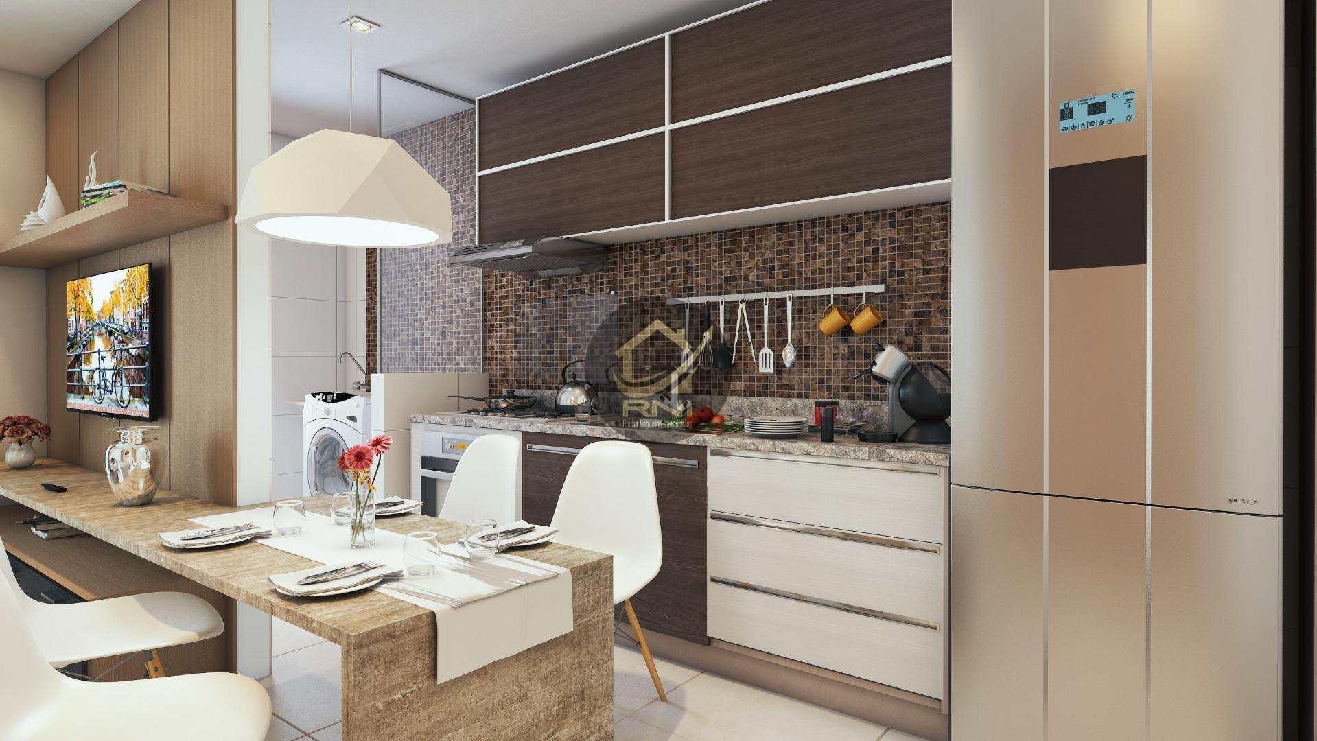 Apartamento à venda, 64 m² por R$ 335.000,00 - Vila Guilhermina - Praia Grande/SP