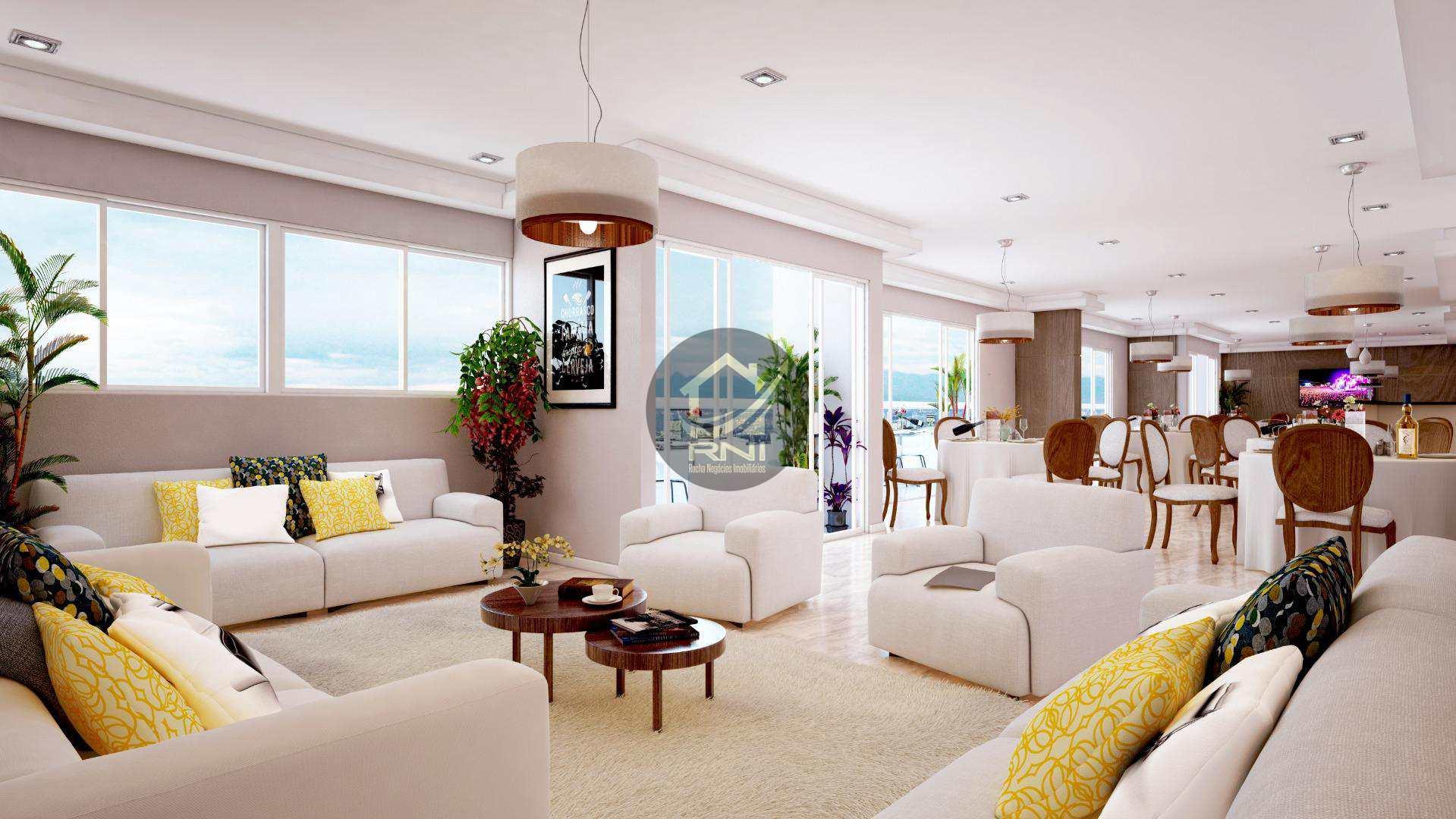 Apartamento à venda, 64 m² por R$ 325.000,00 - Vila Guilhermina - Praia Grande/SP
