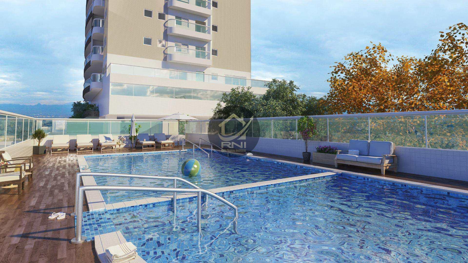 Apartamento à venda, 64 m² por R$ 330.000,00 - Vila Guilhermina - Praia Grande/SP