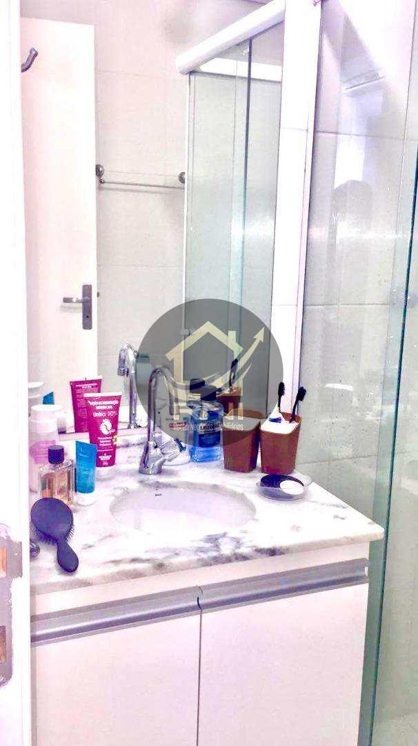 Apartamento com 2 dormitórios à venda, 63 m² por R$ 467.000 - Gonzaga - Santos/SP
