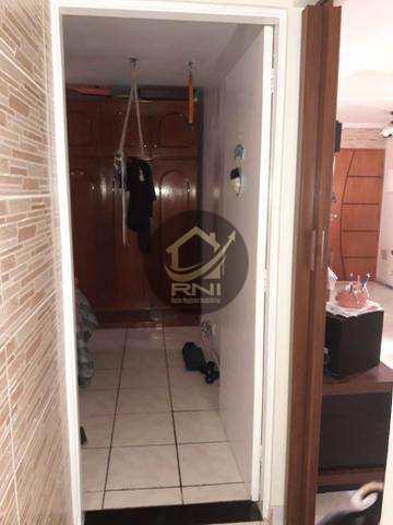 Apartamento com 3 dormitórios à venda, 72 m² por R$ 339.200 - Aparecida - Santos/SP