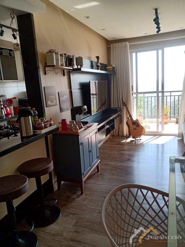 Apartamento com 3 dorms, Chácara Agrindus, Taboão da Serra - R$ 480 mil, Cod: 24
